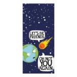 Asteroid again customized rack card