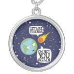 Asteroid again necklaces
