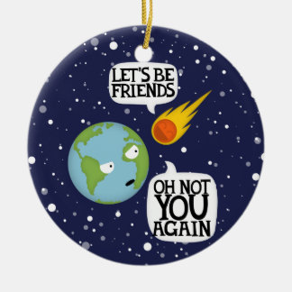 Asteroid again christmas tree ornaments