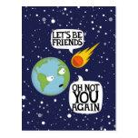 Asteroid again post card