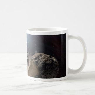 Asteroid bites the dust PIA11735 Coffee Mug