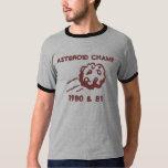 ASTEROID CHAMP 1980 & 81 T SHIRTS