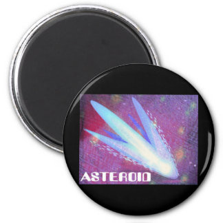 Asteroid Digital Explosion 2 Inch Round Magnet