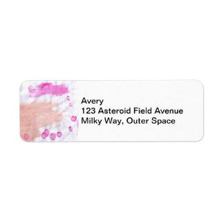 Asteroid Field Label