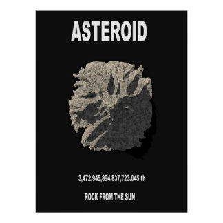 ASTEROID POSTERS