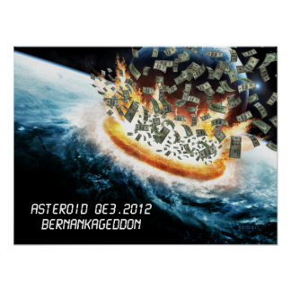 Asteroid QE3.2012 Poster