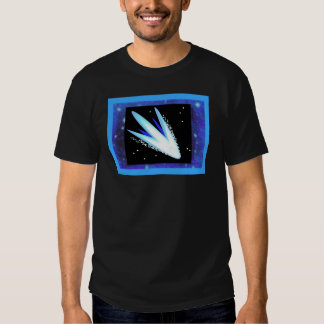 Asteroid With Layered Midnight Blue Stars Shirt