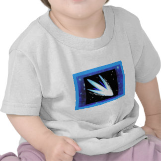 Asteroid With Layered Midnight Blue Stars Tees