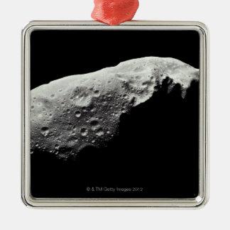 Asteroide 243 Ida Adorno Navideño Cuadrado De Metal