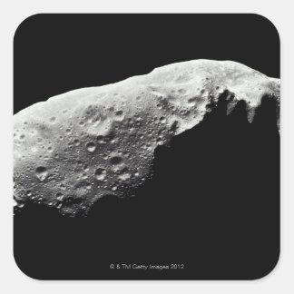 Asteroide 243 Ida Pegatina Cuadrada