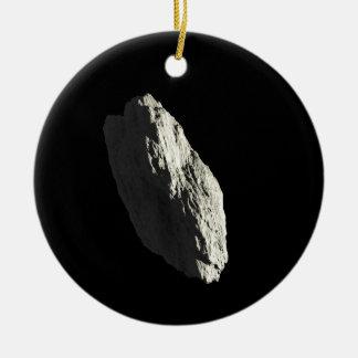 Asteroide Adorno Navideño Redondo De Cerámica