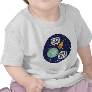 Asteroide otra vez camiseta