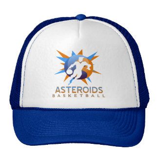 Asteroids Basketball Cap Hat