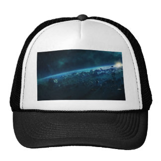 Asteroids Mesh Hats