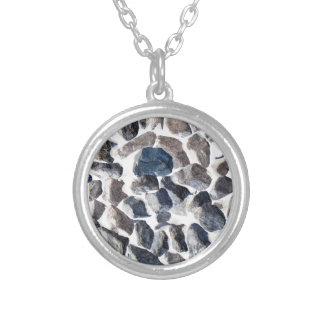 Asteroids Silver Plated Necklace