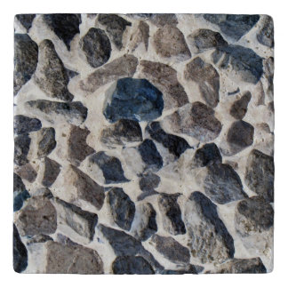 Asteroids Travertine Stone Trivet