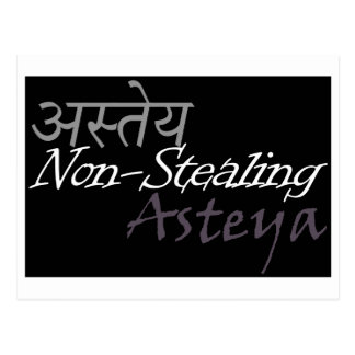 Asteya Postcard
