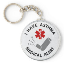 Asthma Alert Keychain