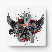 Asthma Awareness 16 Plaque