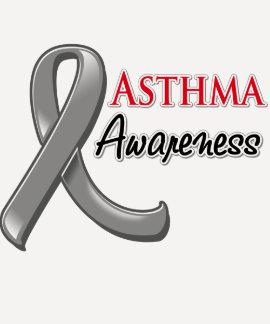 Asthma Awareness Ribbon T-shirt