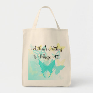 Asthma Butterfly Tote