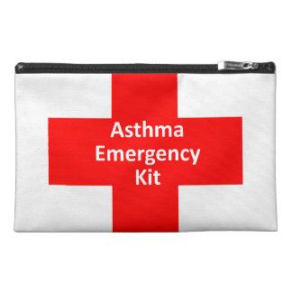 Asthma Emergency Kit Travel Accessory Bag