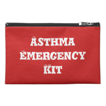 Asthma Emergency Kit Travel Bag