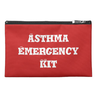 Asthma Emergency Kit Travel Bag
