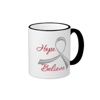 Asthma - Hope Believe Coffee Mug