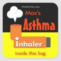 Asthma inhaler sticker / Customize