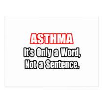 Asthma...Not a Sentence Postcard