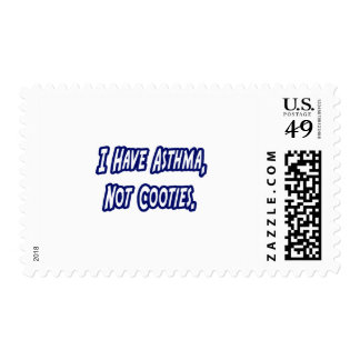 Asthma...Not Cooties Stamp