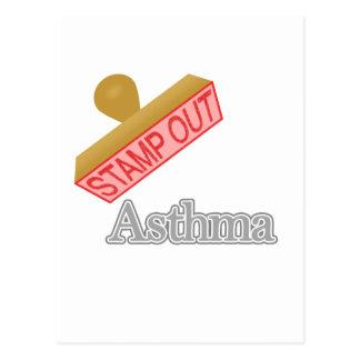 Asthma Postcard