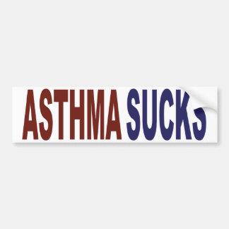 Asthma Sucks Car Bumper Sticker
