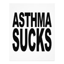 Asthma Sucks Flyer