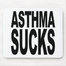 Asthma Sucks Mouse Pad
