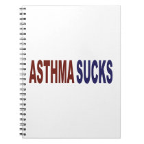 Asthma Sucks Notebook