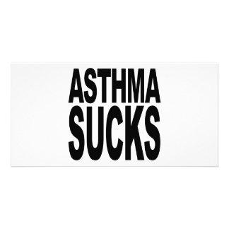 Asthma Sucks Photo Cards