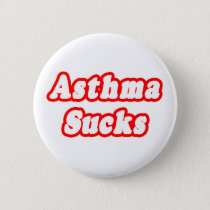 Asthma Sucks Pinback Button
