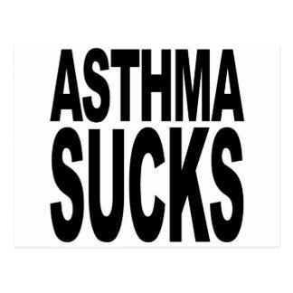 Asthma Sucks Postcard