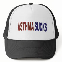 Asthma Sucks Trucker Hat