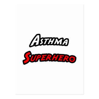 Asthma Superhero Postcard