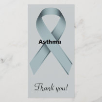 Asthma Thank You Card