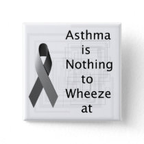 Asthma's Nothing To Wheeze At Button