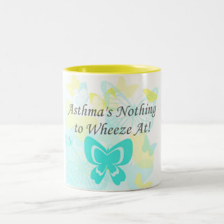 Asthma's Nothing to Wheeze at Mug