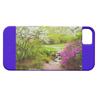 Asticou Azelea Garden In Spring, Northeast Harbor iPhone 5 Cover