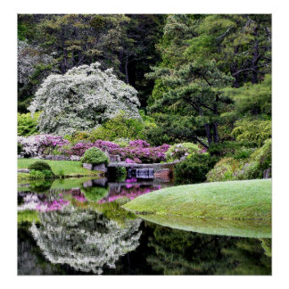 Asticou Gardens Poster