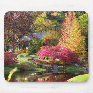 Asticou in the Fall Mouse Pad