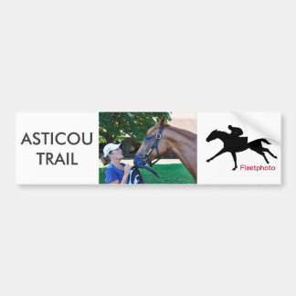 Asticou Trail 2yr-old Bumper Sticker