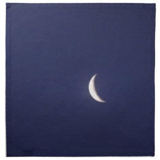 Astilla de la luna azul servilleta